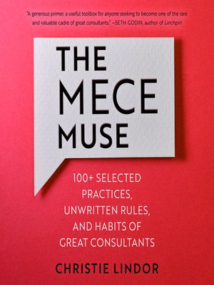 cover image of The MECE Muse