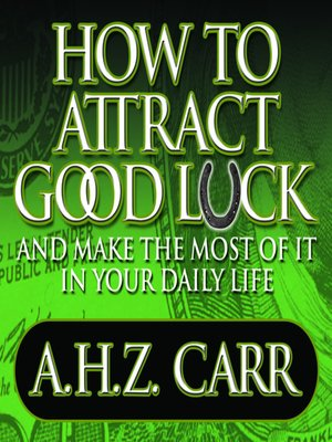 cover image of How to Attract Good Luck