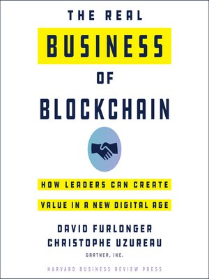 cover image of The Real Business of Blockchain
