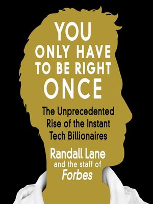 cover image of You Only Have to Be Right Once