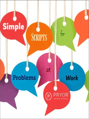 cover image of Simple Scripts for Problems at Work