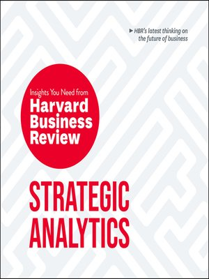 cover image of Strategic Analytics