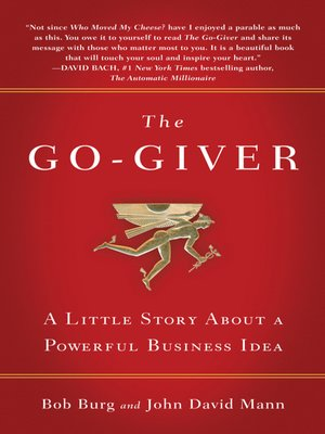 cover image of The Go-Giver