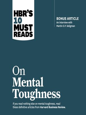 cover image of HBR's 10 Must Reads on Mental Toughness