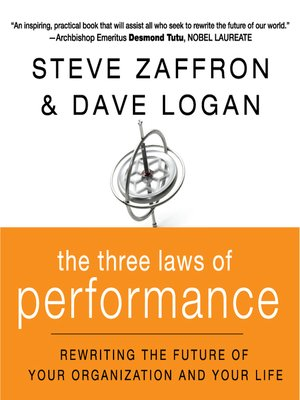 cover image of The Three Laws of Performance