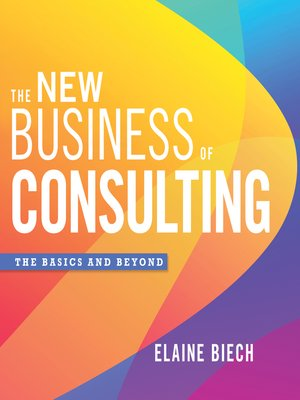 cover image of The New Business of Consulting