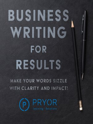 cover image of Business Writing for Results