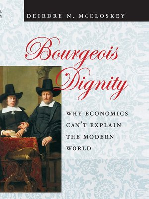 cover image of Bourgeois Dignity