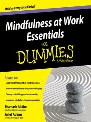 cover image of Mindfulness at Work Essentials for Dummies