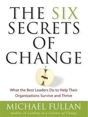 cover image of The Six Secrets of Change