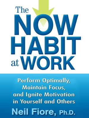 cover image of The Now Habit at Work