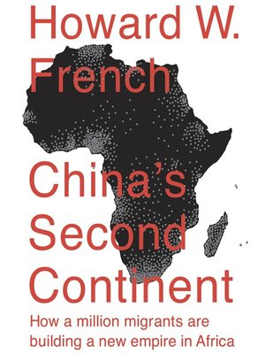 cover image of China's Second Continent