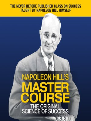 cover image of Napoleon Hill's Master Course
