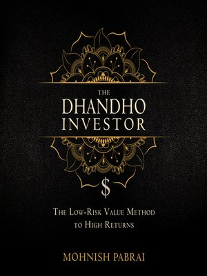 cover image of The Dhandho Investor