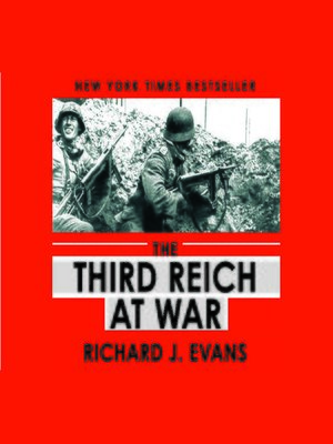 cover image of The Third Reich at War