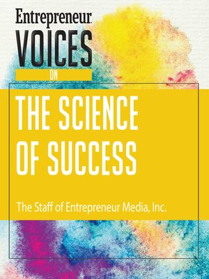 cover image of Entrepreneur Voices on the Science of Success