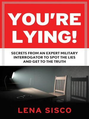 cover image of You're Lying