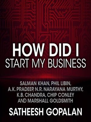 cover image of How Did I Start My Business