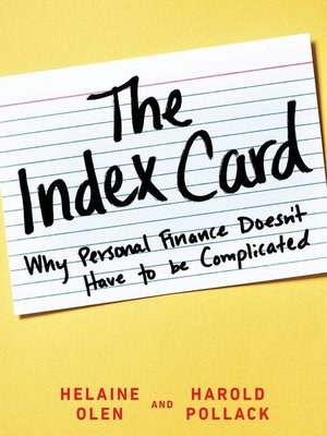 cover image of The Index Card