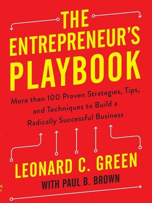 cover image of The Entrepreneur's Playbook