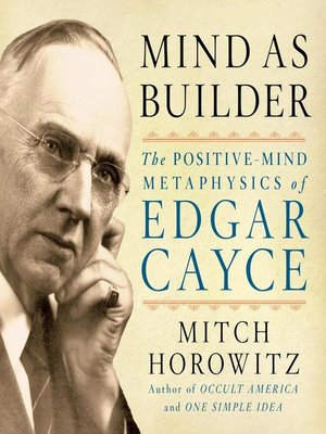 cover image of Mind As Builder