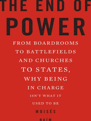 cover image of The End of Power