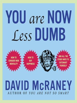 cover image of You Are Now Less Dumb