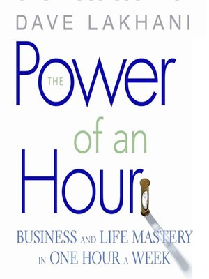 cover image of The Power of an Hour