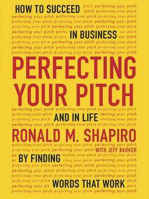 cover image of Perfecting Your Pitch