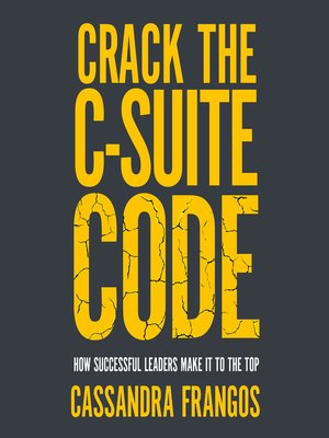 cover image of Crack the C-Suite Code