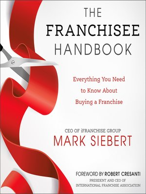 cover image of The Franchisee Handbook