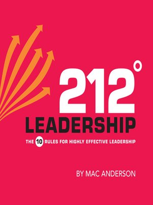 cover image of 212° Leadership