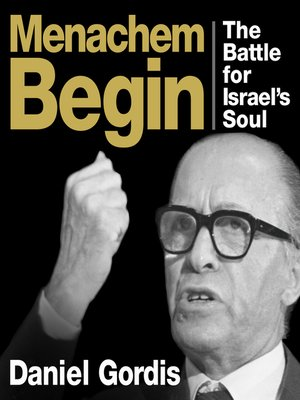 cover image of Menachem Begin