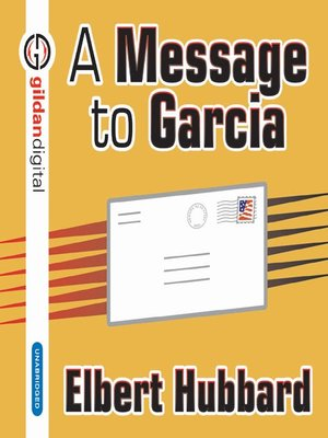 cover image of A Message to Garcia
