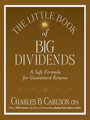 cover image of The Little Book of Big Dividends