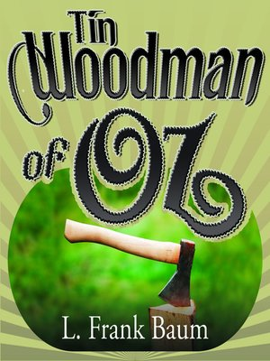 cover image of Tin Woodman of Oz