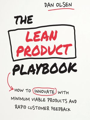 cover image of The Lean Product Playbook