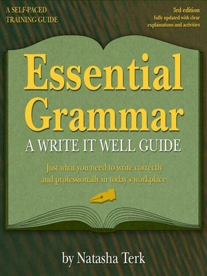 cover image of Essential Grammar