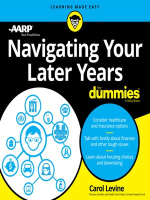 cover image of Navigating Your Later Years For Dummies