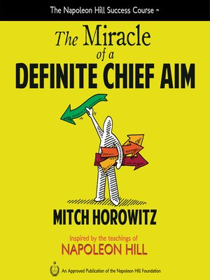 cover image of The Miracle of a Definite Chief Aim