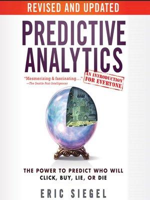 cover image of Predictive Analytics