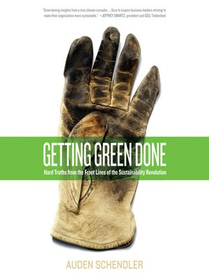 cover image of Getting Green Done