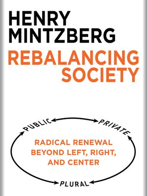 cover image of Rebalancing Society