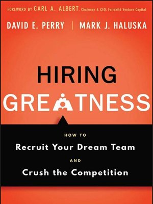 cover image of Hiring Greatness