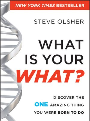 cover image of What is Your WHAT?