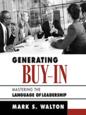 cover image of Generating Buy-In