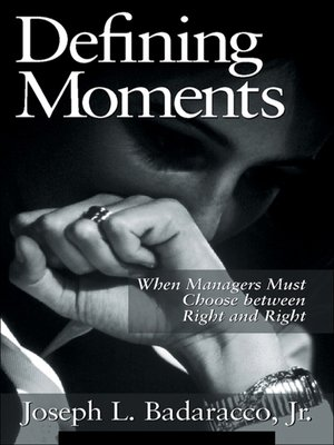 cover image of Defining Moments
