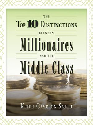 cover image of The Top 10 Distinctions Between Millionaires and the Middle Class