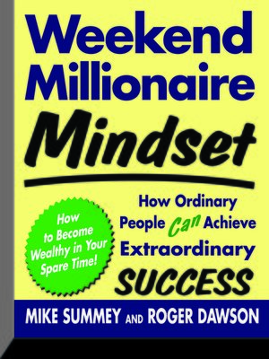 cover image of Weekend Millionaire Mindset
