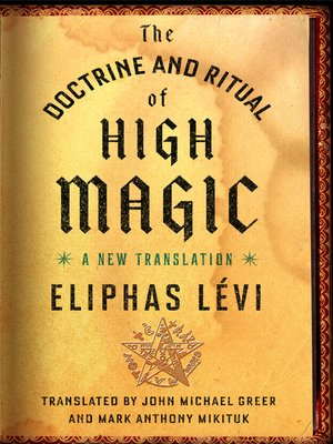 cover image of The Doctrine and Ritual of High Magic